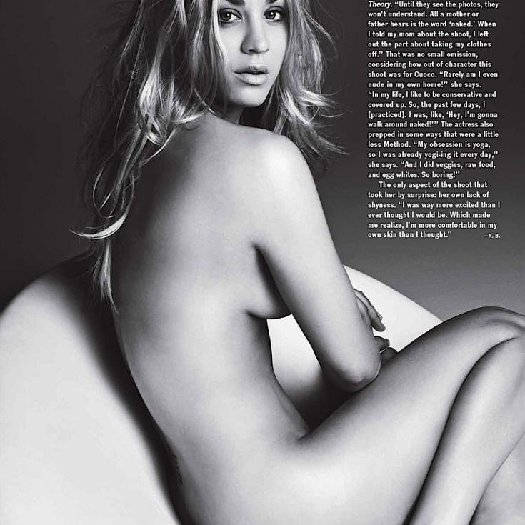 Ashley Tisdale y Kaley Cuoco - desnudas en Allure