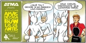 ATMA y su marketing feminista.(Comics)