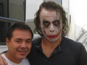 "Detrás de Cámaras: Heath Ledger como ""Joker"" [Fotos]"