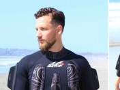 WaveWrecker, un traje para surfear sin tabla