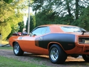 Plymouth Barracuda 1971 y Dodge Super Bee 1970