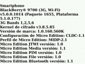 Conoce por que tu blackberry levanta EDGE y no 3G