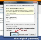 Como volver al chat antiguo de facebook Firefox/Chrome