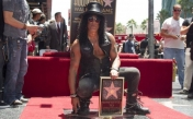 La estrella de Slash en Hard Rock Hollywood