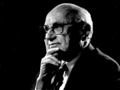 Milton Friedman, economista liberal autor de Free to Choose