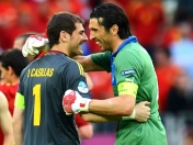 Casillas VS Buffon, los titanes en la Final de la Eurocopa