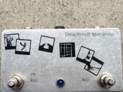 Pedal de Guitarra Dwarfcraft Memento kill switch