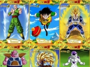 Cartas de Dragon Ball Z - Coleccionables