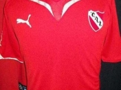 la nueva camiseta de independiente