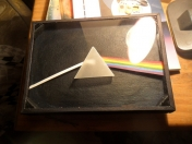 Cuadrito inspirado en Pink Floyd (The Dark Side of the Moon)