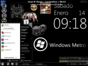 Temas Windows XP: Windows 8 Metro GXP