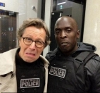 RoboCop: Gary Oldman y Michael K. Williams