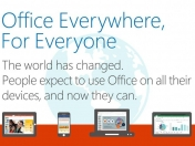 Microsoft Office gratis para iPhone, iPad y Android
