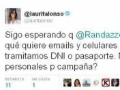 Confirmado: Laura Alonso no resiste el archivo