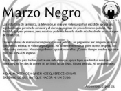 Arrancó 'marzo negro': Anonymous