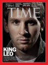 Messi, portada de la revista «Time»