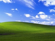 fondo de escritorio de Windows XP es real