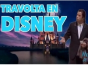 John Travolta invadió Disney!
