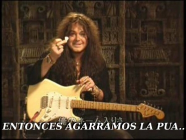 Licks a la Malmsteen [1ra Parte] published in Música