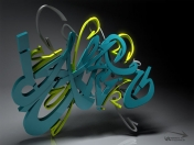 wallpepers de graffitis 3D digitales