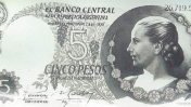 Billetes de Evita con Fallas