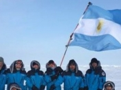 Argentina coloniza el Polo Norte