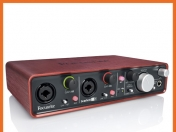 Interface Focusrite Scarlett 2i4
