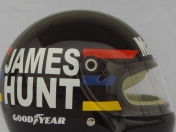 Cascos históricos F1: James Hunt