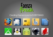 Faenza Fresh 0.2 Icon Theme – Pack de extensiones