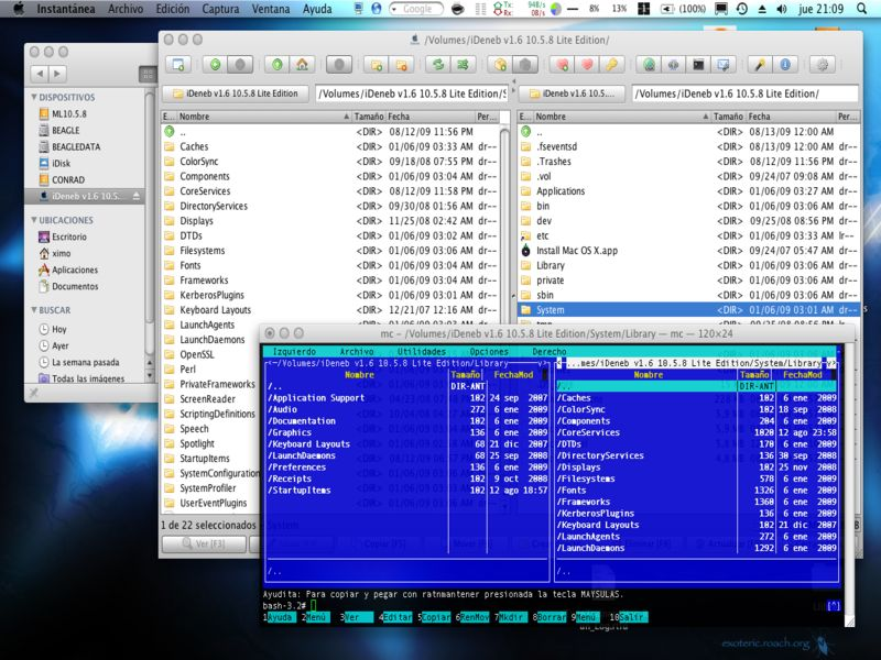 ideneb 10 5 Here you can download ideneb 131055 shared files: ideneb v16 1058 lite editiontorrent from mediafirecom 3061 kb, ideneb 1 5 1 10 5 7 for intel sse2 sse3 amd download hotfile.