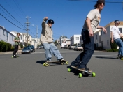 Freebord-Snowboard the streets