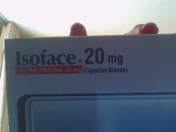 Tratamiento con Isoface 20Mg (Mes a Mes)