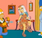 Wtf? lady gaga en los simpsons