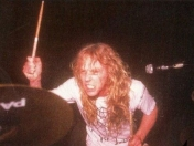 On the Drums...James Hetfield