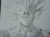 Mi Dibujo Dragon Ball Z