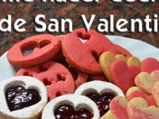 Como hacer cookies de San Valentin (video)