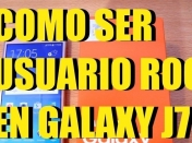 Como ser usuario root en Galaxy J7