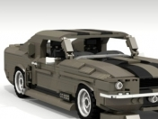 Ford Mustang Shelby GT500 Eleanor de Lego ideas