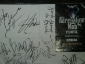 Coleccion de autografos de Rock-Metal.