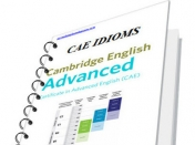 50 CAE (Cambridge Advanced English) idioms
