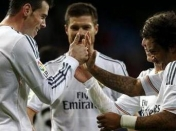 Real Madrid - Valladolid (4-0) 'hat-trick' de Bale