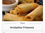Arrolladitos primavera, una delicia desde China.