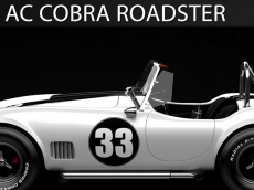 Shelby Cobra Roadster CGI