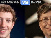 Mark Zuckerberg desafía a Bill Gates