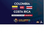 Colombia vs Costa Rica. Poco interés de Houston en la copa