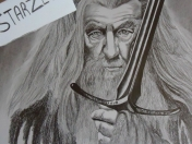Dibujo de Gandalf  (pasos en video)