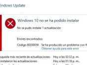 SOLUCIONAR ERROR 80200056 al actualizar a Windows 10