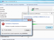 Instalar Impresora Red -Solución Error Windows 7 8 XP Vista